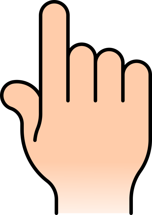 Hand Signs Clipart - Clipart Kid
