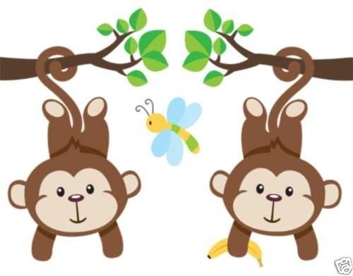 Baby Jungle Border Clipart - Clipart Kid