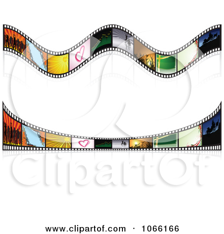 Royalty Free  Rf  Film Strip Border Clipart   Illustrations  1