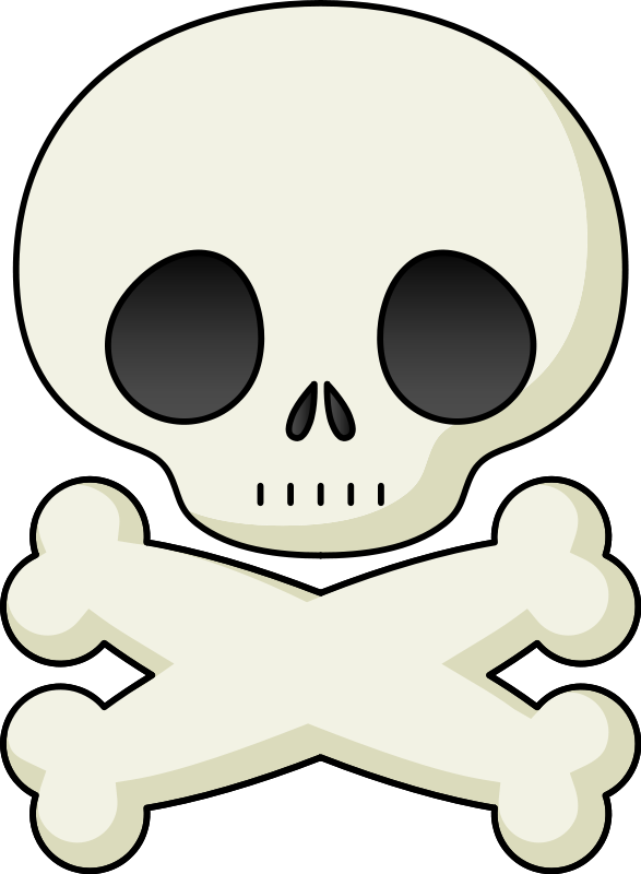 Share Cute Skull Clipart With You Friends