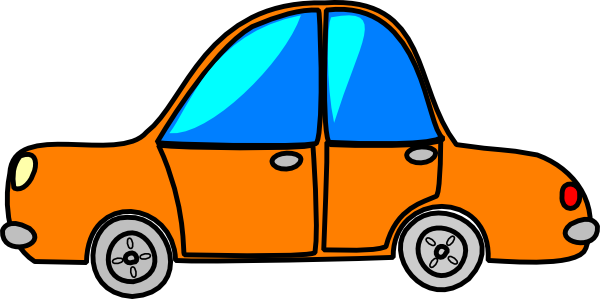 Wallpaper Orange Car Clipart