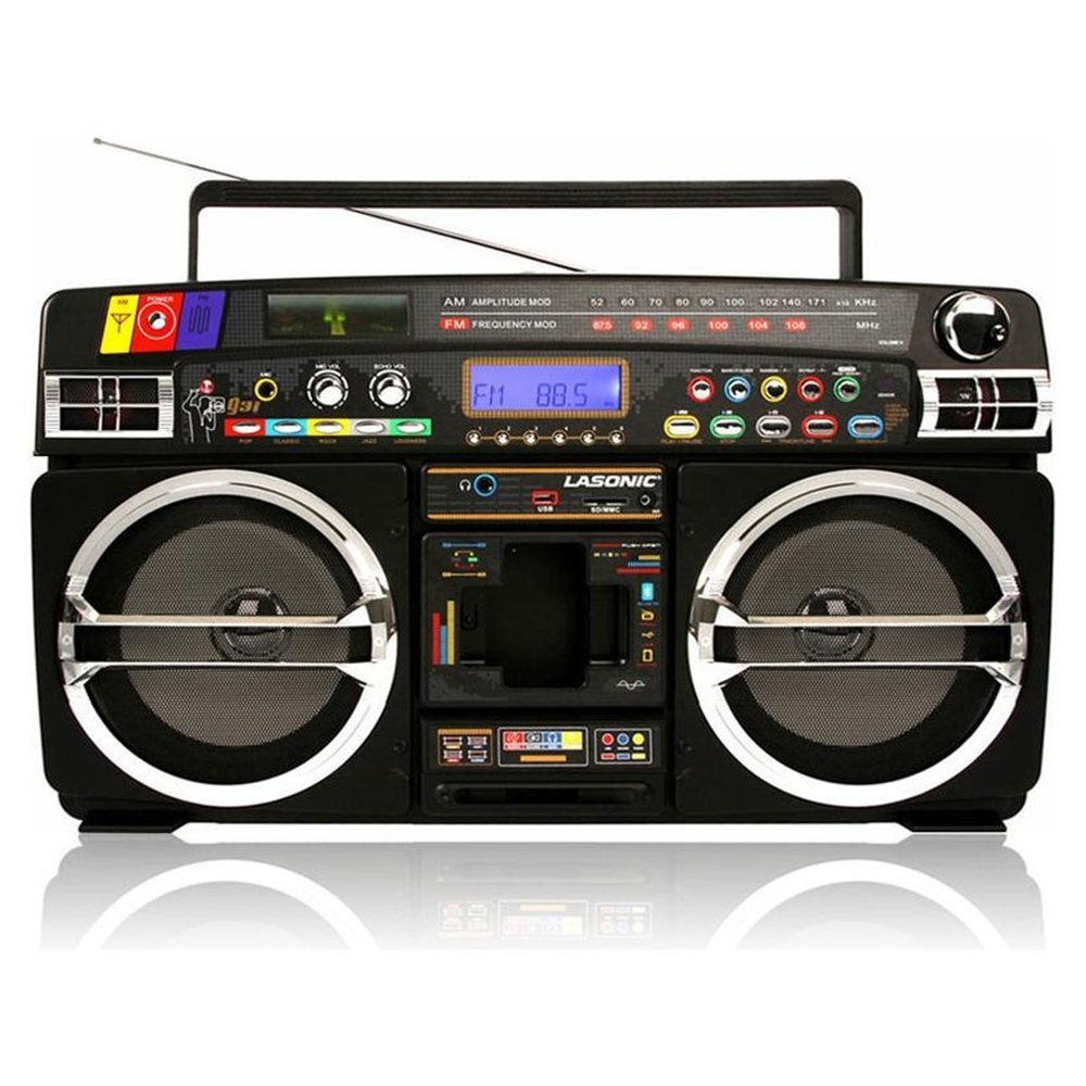 80s Boombox Clipart - Clipart Kid