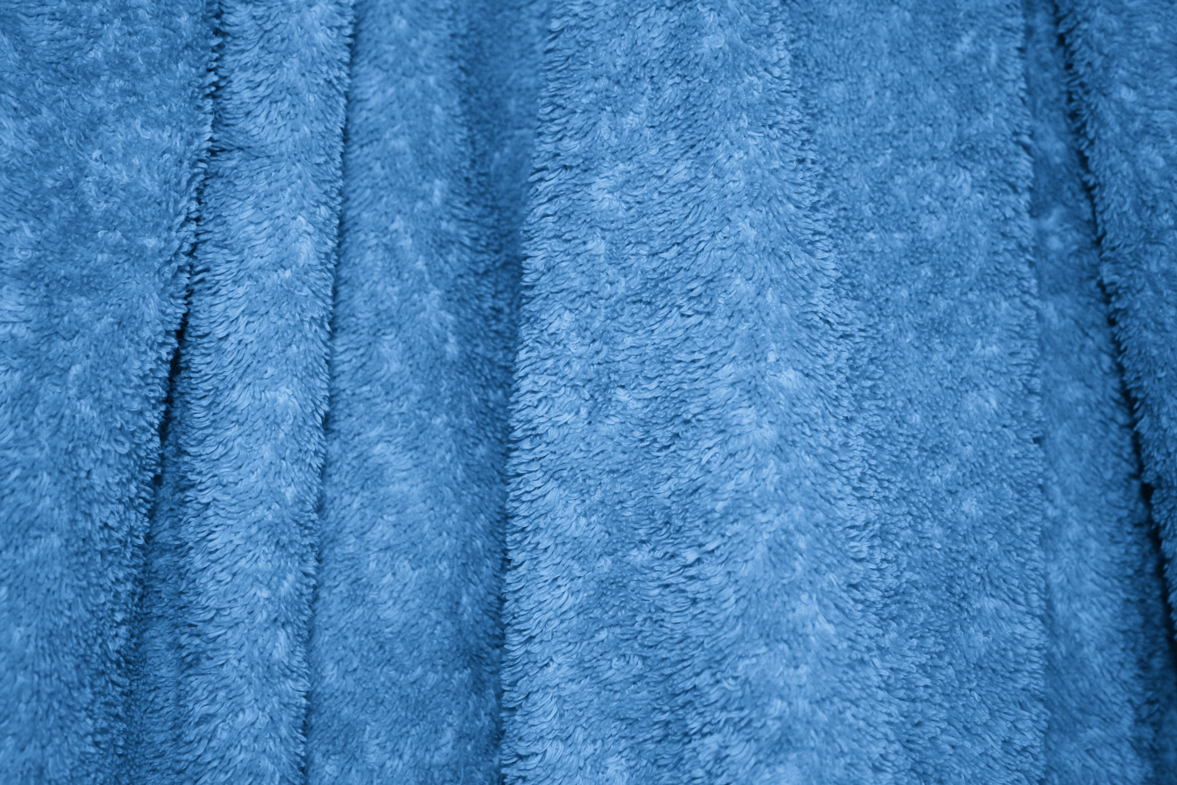 Blue Terry Cloth Bath Towel Texture Picture   Free Photograph   Photos
