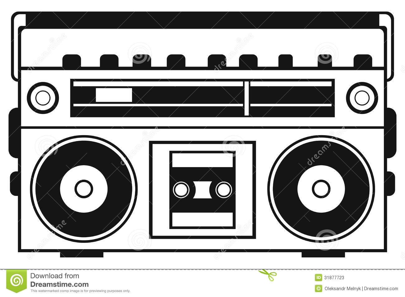Boombox Clipart Repinlikeview Pic