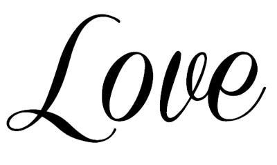 Love Script Clipart - Clipart Suggest