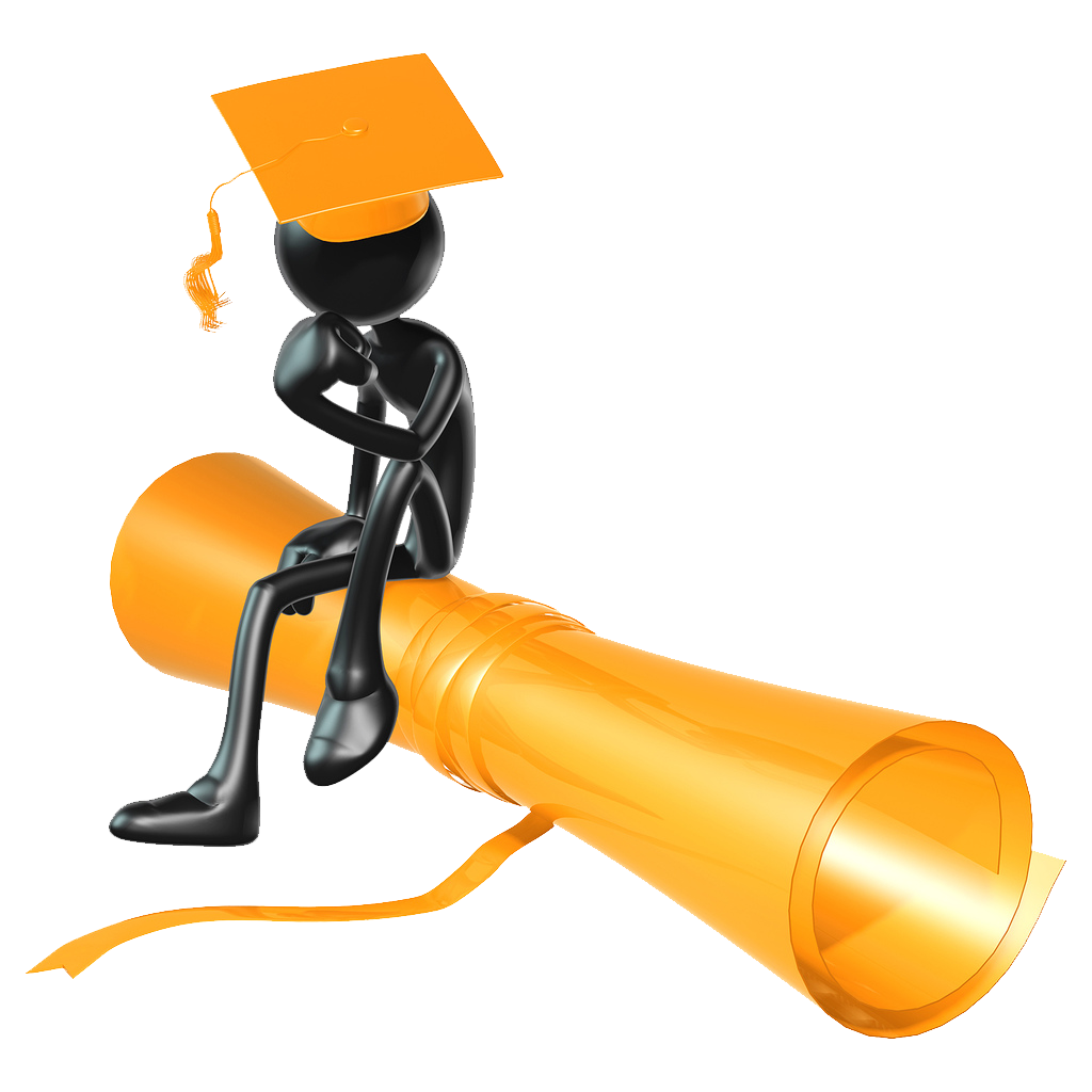 Graduation Person Clipart - Clipart Kid