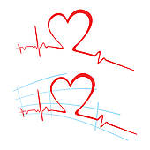 Ekg Stock Illustrations   Gograph