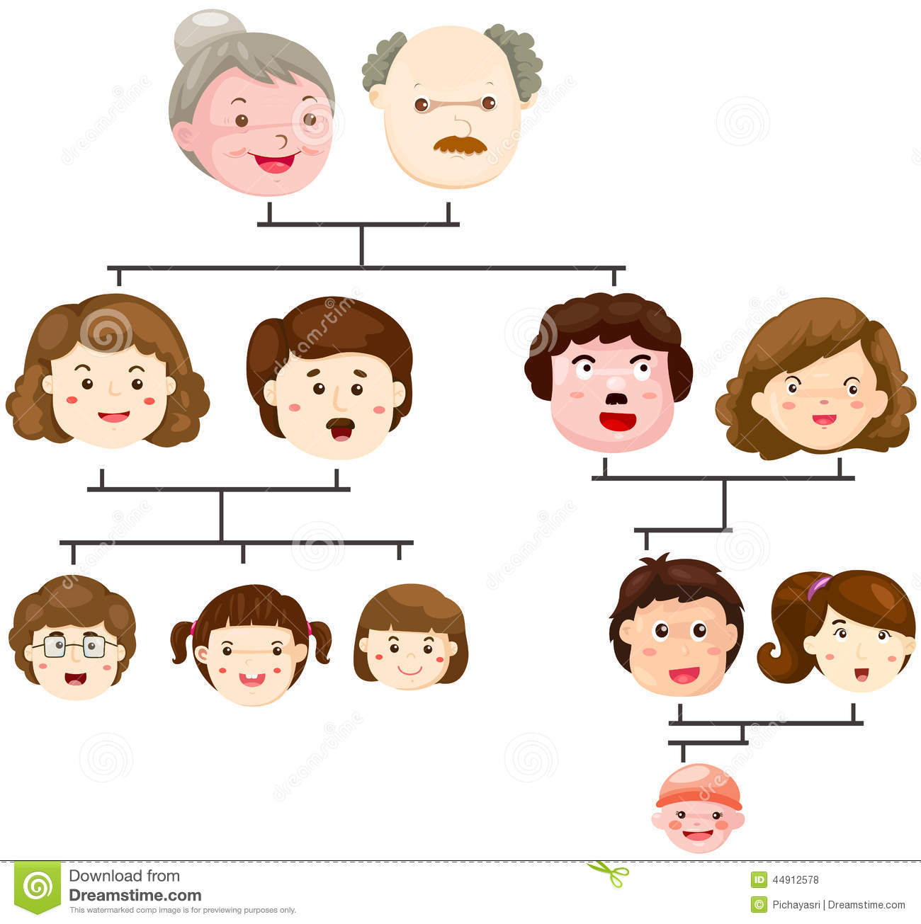 Animated family tree - photo#21
