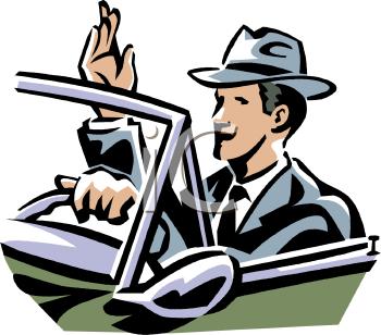 Man Driving Clipart - Clipart Kid