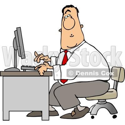 Men At Work Clip Art