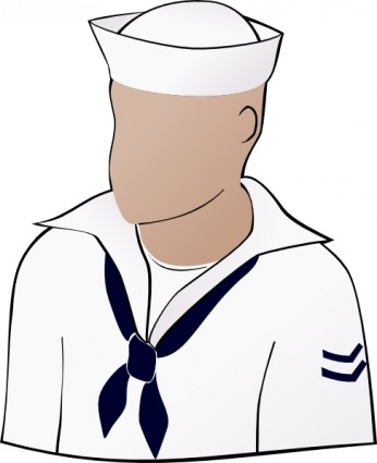 Sailor Face Clip Art Free Vector In Open Office Drawing Svg    Svg