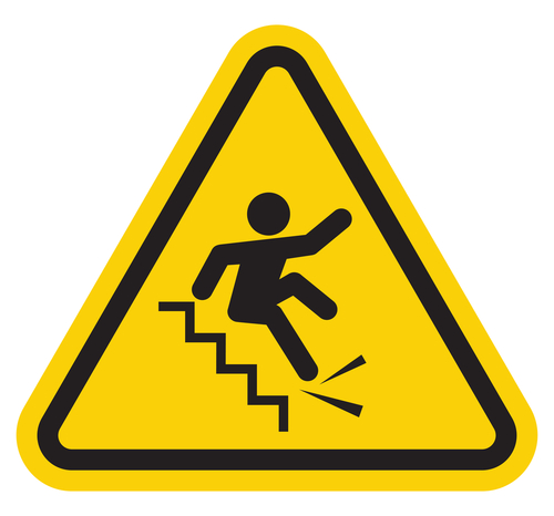slip and fall clip art free - photo #33