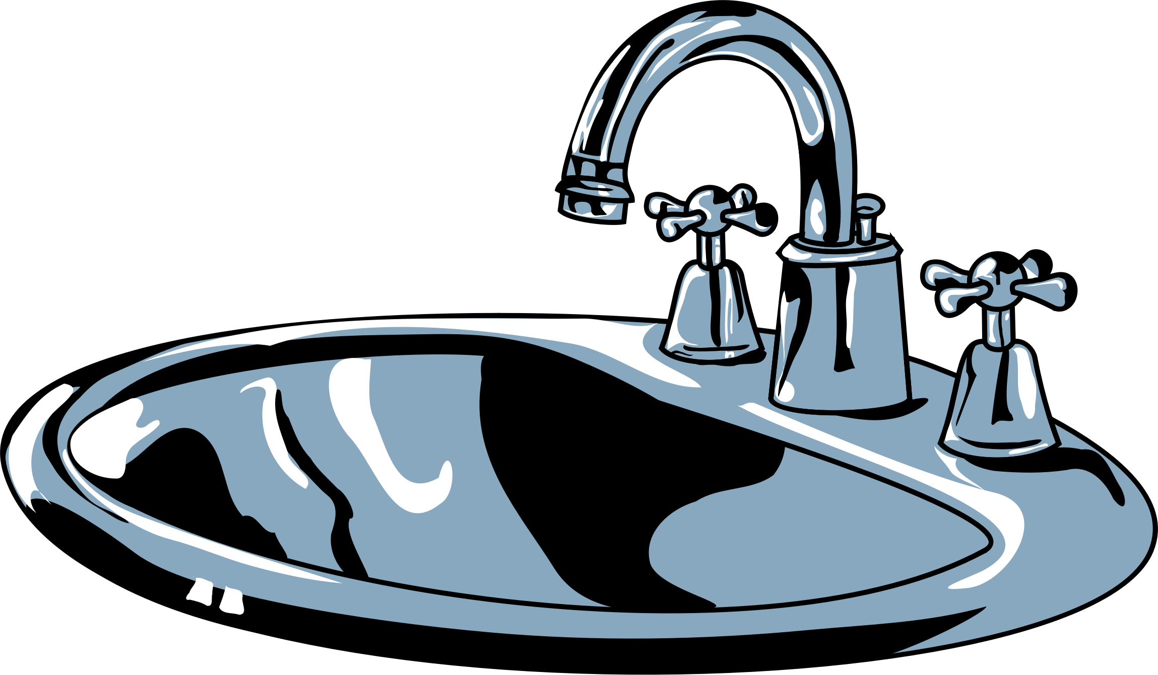 Bathroom Sink Clip Art Clipart   Sink