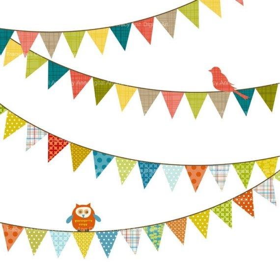 Happy Birthday Banner Clipart - Clipart Kid
