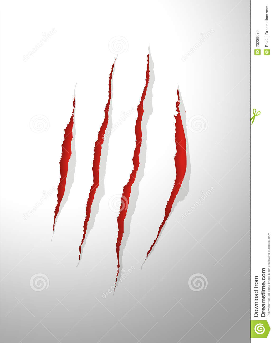 Claws Scratches Royalty Free Stock Images   Image  20289079