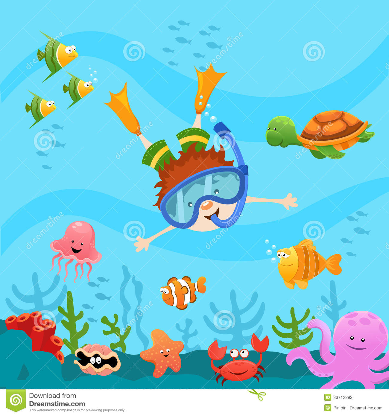 ocean cartoon clip art - photo #33
