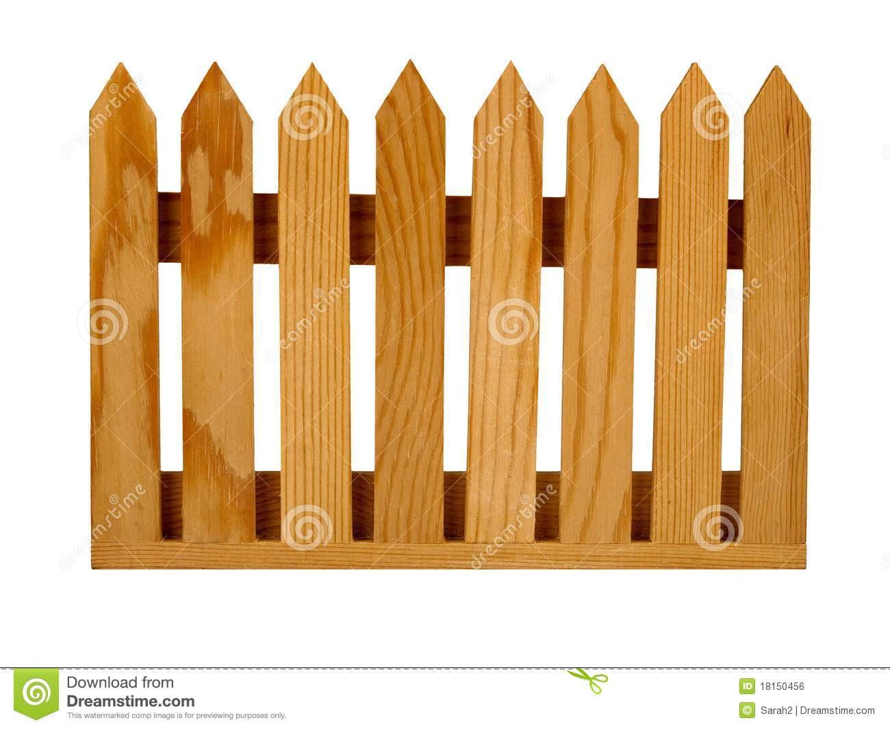 Brown fence clipart clipart suggest - Cercas para jardin ...