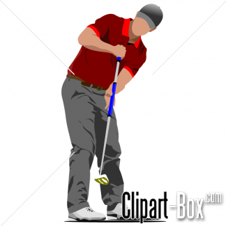 Related Golf Player Cliparts