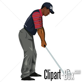 Related Golf Player Tiger Cliparts