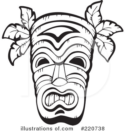 Clip Art Tribal Clip Art free tribal clipart kid royalty rf mask illustration by visekart stock