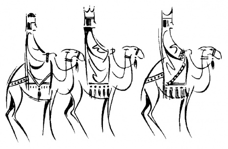 Three Kings Day Coloring Pages