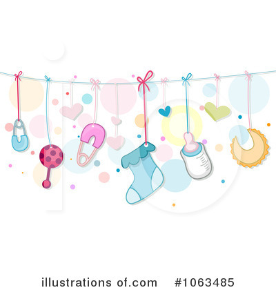 Baby Clipart  1063485 By Bnp Design Studio   Royalty Free  Rf  Stock