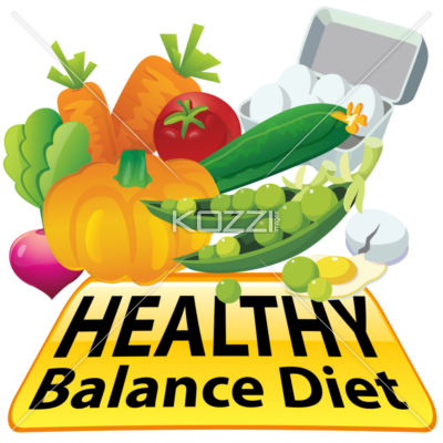 Balance Diet Clipart   Royalty Free Image Id 24785674