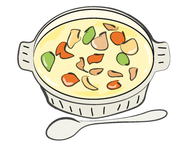 Clip Art Bowl Of Vegetable Soup Clipart   Cliparthut   Free Clipart
