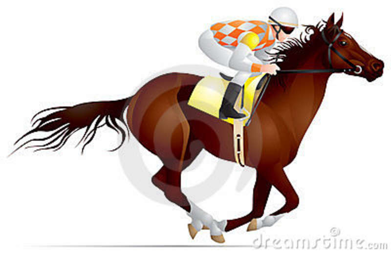 Derby Horse Race   Free Images At Clker Com   Vector Clip Art Online