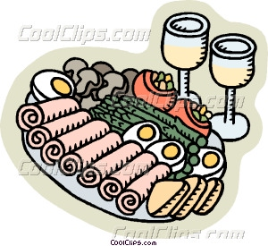 Finger Food Clipart Appetizer Tray Pic  14