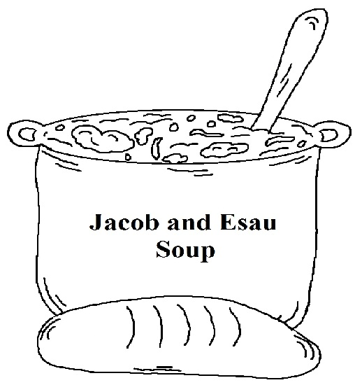 Free Jacob And Esau Sunday School Lesson For Kids