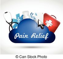 Pain Relief Vector Clipart And Illustrations