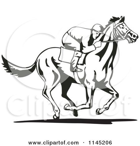 Horse racing track clip art - photo#12