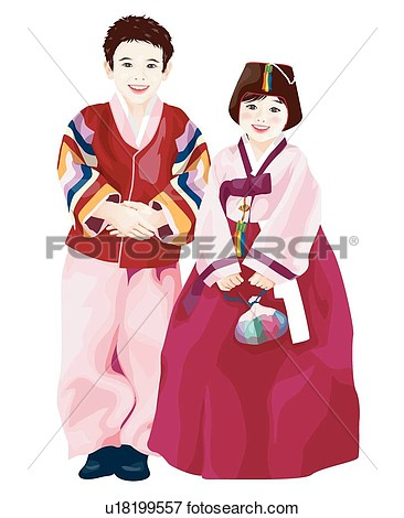 Traditional Korean Clothes New Year Chinese New Year New Years New