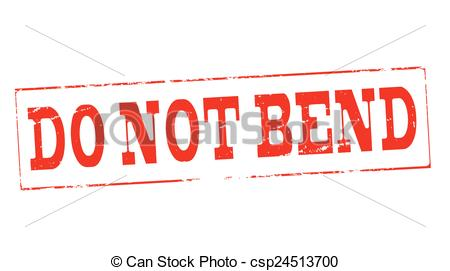 Vector Clipart Of Do Not Bend   Stamp With Text Do Not Bend Inside
