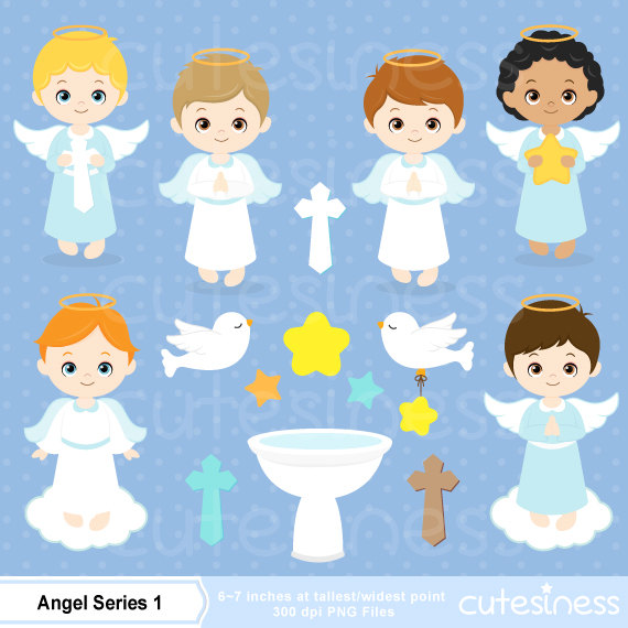 Boy Clipart Angel Boy Clip Art Baptism Clipart Angel Baptism Boy
