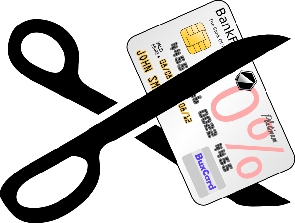 Cut Credit Card Clip Art At Clker Com   Vector Clip Art Online