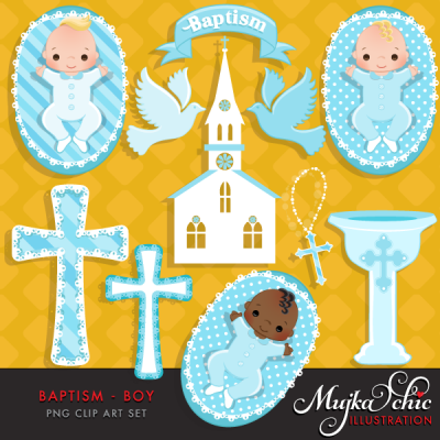 Home   Cliparts   Baptism Baby Boy Clipart