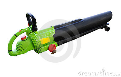 Leaf Blower Royalty Free Stock Image   Image  3759286