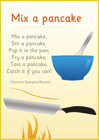Mix A Pancake Poster   Free Early Years   Primary Teaching Resources
