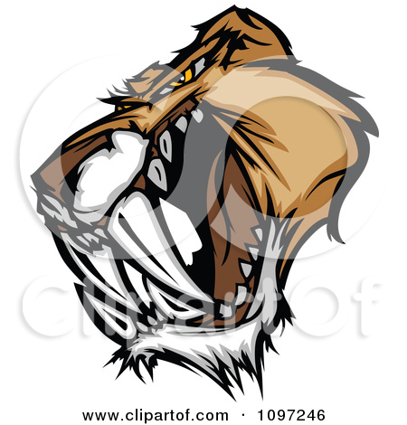 Tiger Fangs Clipart - Clipart Suggest