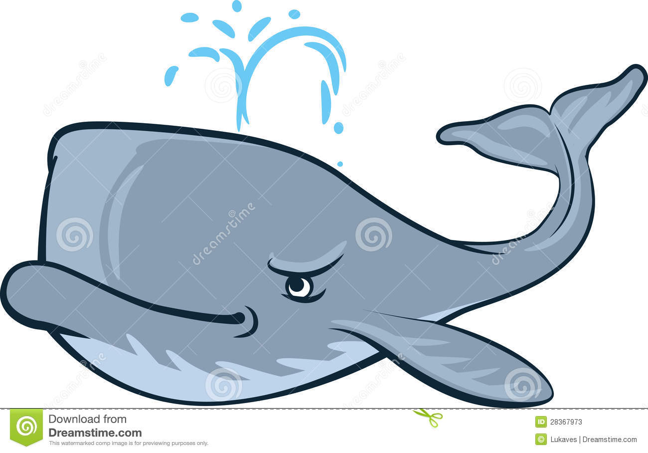 Sperm whale clipart