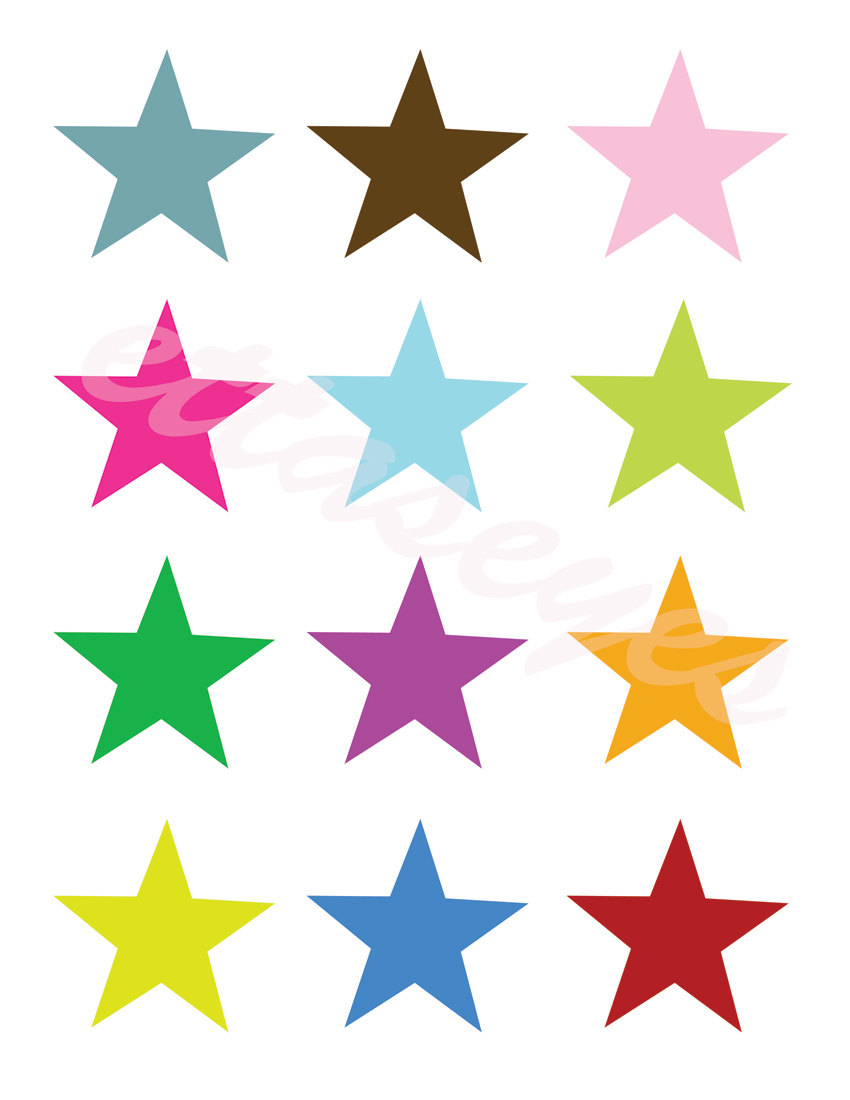 Stars Clipart On Transparent Background   Clipart Panda   Free Clipart