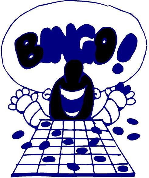 Pizza Bingo Clipart - Clipart Kid