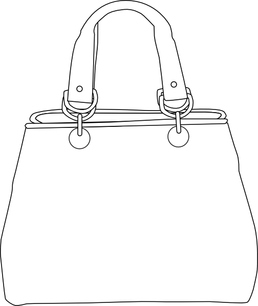 White Purse Clip Art At Clker Com   Vector Clip Art Online Royalty
