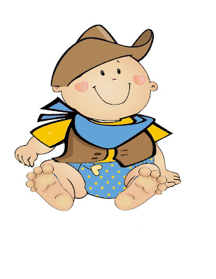 Cowboy Baby Clipart - Clipart Kid