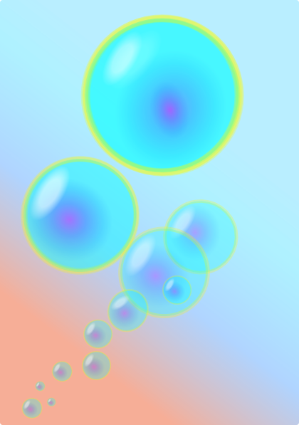 Bubbles 1 Clip Art At Clker Com   Vector Clip Art Online Royalty Free