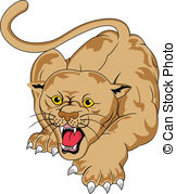 Cougar Illustrations And Clip Art  740 Cougar Royalty Free