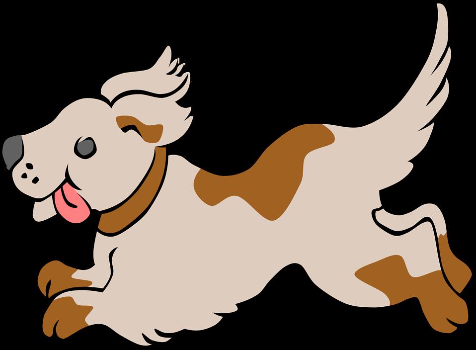 Running Dog Clipart - Clipart Kid