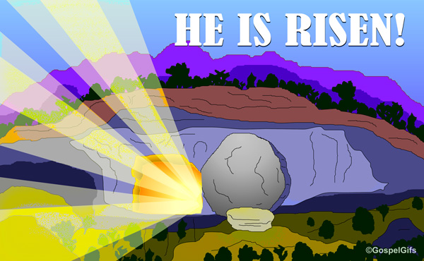 He Is Risen Clipart - Clipart Kid